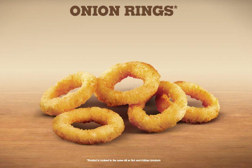Burger King Vegan Onion Rings