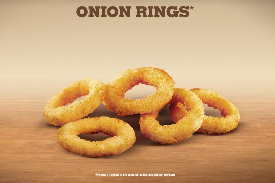 Onion Rings Baking Powder